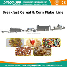 Hot Sale Kellogg Breakfast Cereal Corn Flakes Snack Food Extruder Machine Production Line