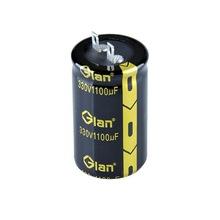 high voltage motor capacitor 330v 1100uf low esr EL caps