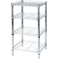 wire wall shelving for kitchen