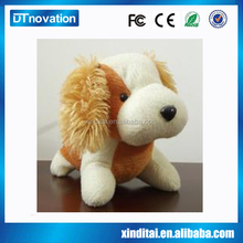 music customized OEM design stuffed animals dog plush toy perfect petz