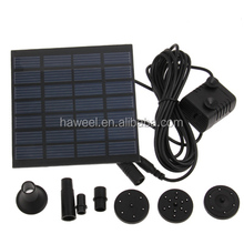 low price solar water pump/solar panel