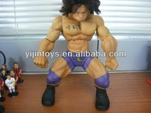 Plastic muscle man action figure ;plastic action figure;muscle & sexy man;vinyl pvc design hot selling figure