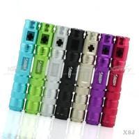 dry herb vaporizer pen e-health e-cig 1600mah X8J kit wholesale