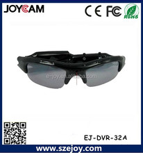 Sunglass promoción cámara cámara del deporte de HD gafas de sol de conducción precio barato