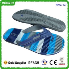 printing male rubber flip flops, men Custom Slippers Flip Flop Wholesale