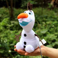 Frozen Olaf Pincess Playset Toy Plush Soft Stuff 20cm Snowman Doll