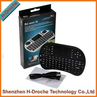 Latest cheap and hot selling 2.4G mini wifi air fly wireless keyboard/android tv remote/air mouse