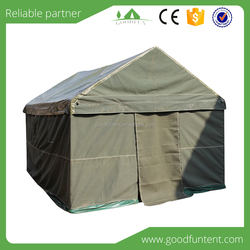 2015 Fashion design High quality party tents military cotton canvas gaiters tent for sale