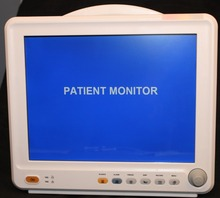 2015 New 12 Inch TFT Display Multi-parameter Patient Monitor(ETCO2,IBP,Recorder,Trolley and Cart for Choice)