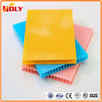 plastic sheet high quality UV protected Lexan greenhouse hollow polycarbonate sheet