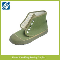 Chinese cheap liberation shoes with high cut boots Farmland shoes