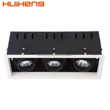 High Luminous Efficacy Project Open Hole 265*92mm LED Grille Lights