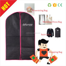 Fashion Home Clothes Garment Cover Case Dustproof Storage Bags For Dress Coat Suit Clothing Protector Bags