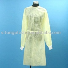 Disposable non-woven isolation gown Lab gown Surgical gown with CE/FDA/Nelson