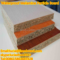 Melamine Paper Pre Laminated Particle Board , Home Furniture Panels Plain Particle Board Price