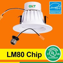 "Comparable to a 60w incandescent bulb 685lm 4"" 9w LED Retrofit Light"