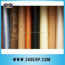 pvc pu leather stock lot