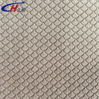 2015 hot wholesale China manufacturer embossed patterns oblique lattice shape fleece or velvet textiles and fabrics for sofa