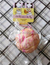 Cafe Sakura Strawberry Cream Cream Puff CBULL Super Squishy Kawaii Squeeze Toy