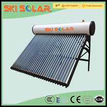 heat pipe solar water heater for bathroom