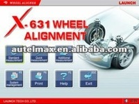 Newest X-631 wheel alignment equipment, launch wheel aligner