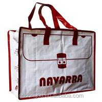 Fashion reusable target reusable shopping bag/customized pp non woven shopping bag