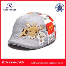 cartoon pattern printing or embroidery baseball cap for children hot sale wholesale child cap