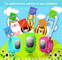 2015 newest Kids GPS Smart Watch G36 Location Watch with Sapphire Screen SOS watch for kids chirldren