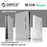 ORICO 2.5'' HDD enclosure, aluminum HDD enclosure; 2.5'' HDD case,custom aluminum hdd enclosure