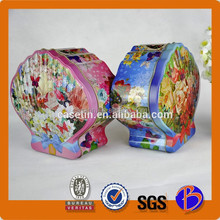 2015 new popular promotion metal food grade packing candy box