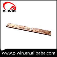 Z-WIN Finely finished strip type copper cnc parts made in China