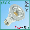 UL ETL listed 80 Degrees 85-265V AC GU10 E27 E26 Dimmable par 20 led light bulb 5W 6W