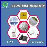 Plastic CaCo3 Filler Masterbatch (for PE/PP Film Blowing)