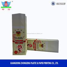 'Tabel' salt paper & aluminum block bottom pouch