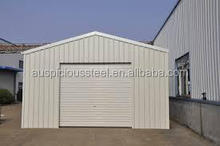 Professional prefabricated steel structure car parking shed design