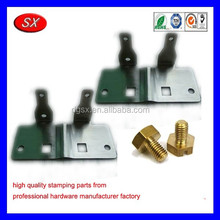 OEM ISO/ROHS oxidation aluminum radiator stamping part,metal bracket