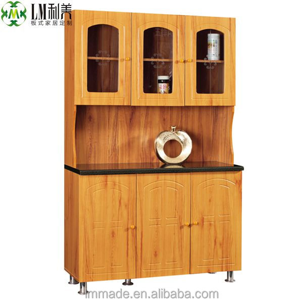 cheap price wooden kitchen furniture in foshan 100705