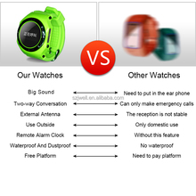 2015kids cell phone watch hot wholesale watch hot selling hand watch mobile phone