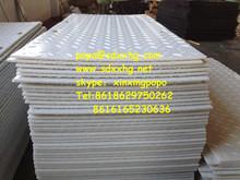 Anti-slip HDPE composite rig mat or hdpe grass protector mats