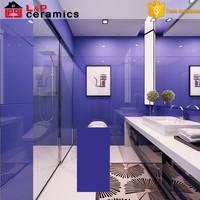 free sample blue tile bathroom wall border