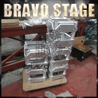 Bravo Stage concert stage aluminum truss roof system bolt truss