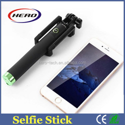 Foldable handheld selfie stick with tripod, bluetooth selfie stick 2015, selfie stick with bluetooth shutter button