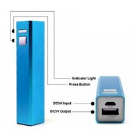 mini power bank 2600mah, portable power bank charger promotion