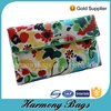 Fashion custom beauty printing canvas cosmetic case