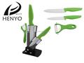 Лучшие продажи 4 шт. керамических ножей с керамическим нож и акриловые блок