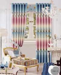 floral blackout window curtain type of bedroom window curtain