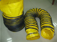 fire resistant and good quality plastic flexible dryer duct with ventilation