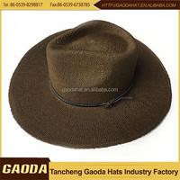 Factory sale best quality cheap felt cowboy hat