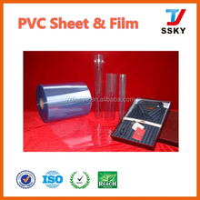 Thermoforming Blister Packing PVC Sheet 3mm Forsted Or Matt Surface