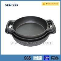 Pre-seasoned Vegetable Oil Cotaing Cast Iron Paella Pan